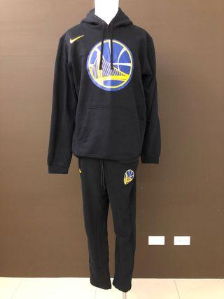 全新現貨無吊牌 Nike Golden State NBA XL Warriors Hoodie 湖人隊火箭勇士