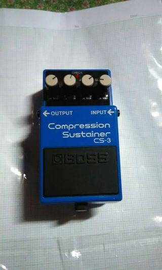 Boss CS3 Compression Sustainer pedal