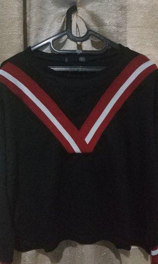 Sweater Long sleeve crop nevada