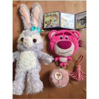 達菲兔和熊抱哥