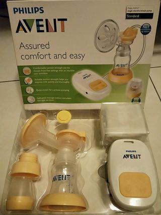 AVENT吸乳器 PHILIPS新安怡 標準口徑單邊電動吸乳器
