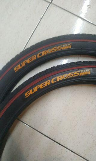 BMX or lajak....20x1.75 (RM20 for 2)