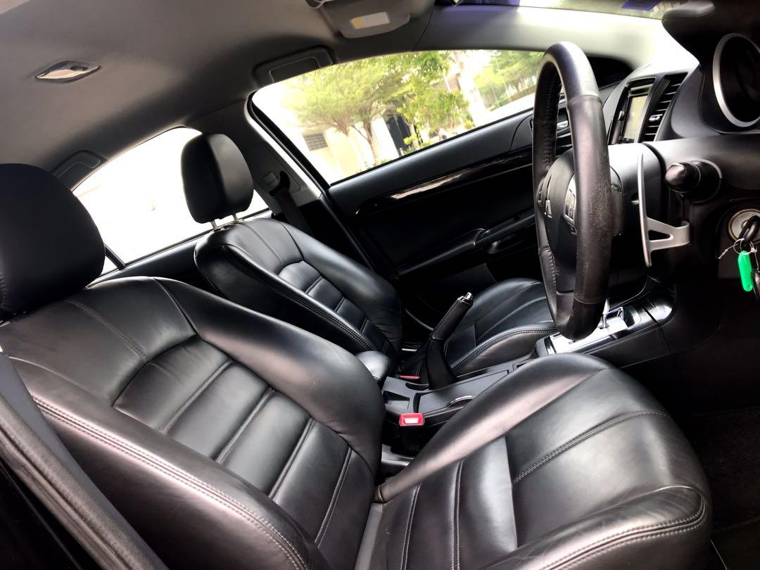2012 Mitsubishi Lancer 2.4 SportBack(A)1 Owner🎉Paddle Shift🎉Full Body Kit🎉Low Mileage🎉Easy Loan