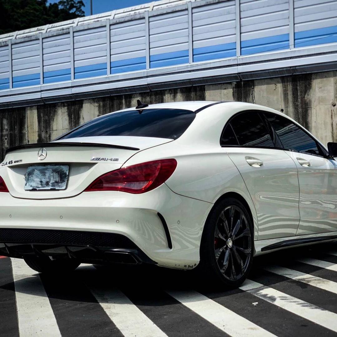 2014年 Benz Cla45 AMG 4MATIC 2.0 總代理 實車實價 可以保固 可以認證