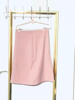 MEIRQ 修臀及膝裙