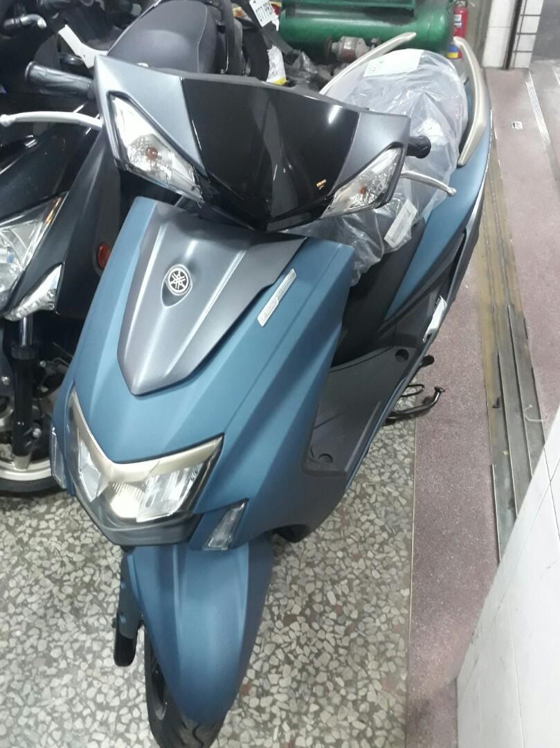 2018 全新領牌車 YAMAHA 五代 勁戰  125 ABS 消光藍