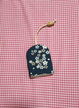 鑰匙包日式櫻花和風