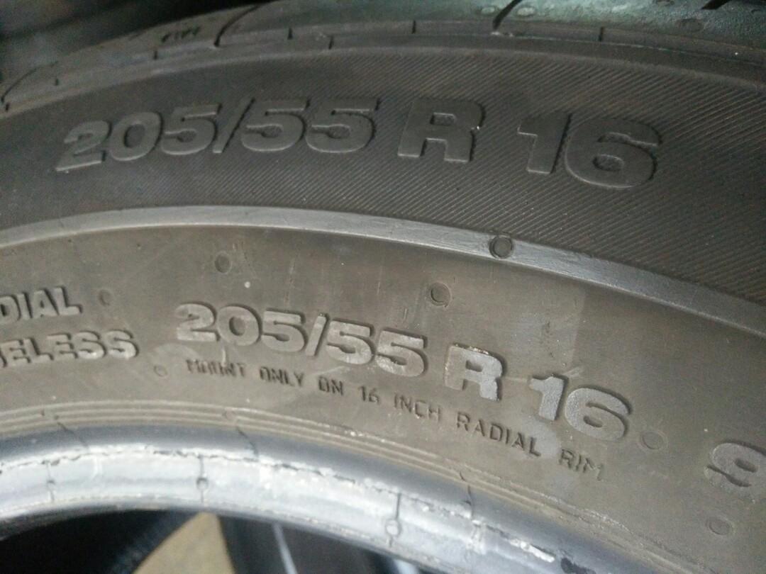 205 55 16 continental cpc2