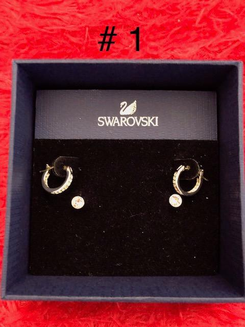 20% off if buy any 2 or more Swarovski Jewelry  Earrings, hair accessories ,charms &bracelets