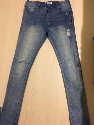 B-side 牛仔褲