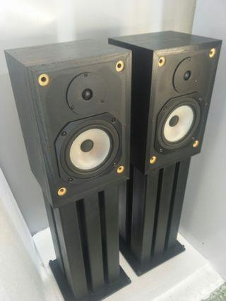 Rogers LS33 2Ways Bass Reflex Bookshelf Speakers