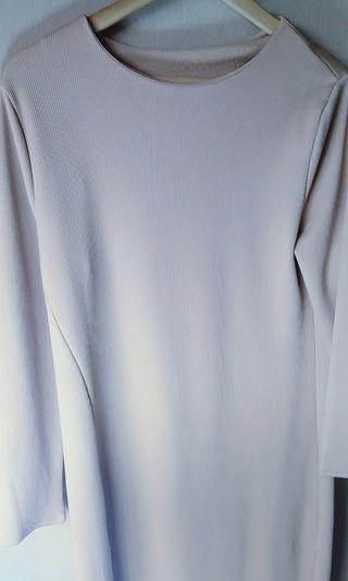 Split long blouse