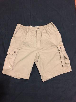 Fjallraven瑞典北極狐 Men's Sambava Shade Shorts 草原棕 輕薄機能短褲