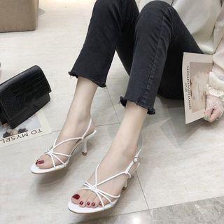 (PO) Strappy Heels