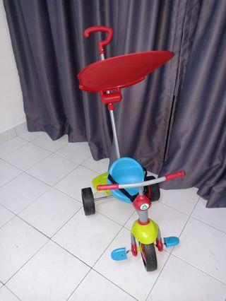 ELC smart trike / tricycle/ urgent sell /moving out clearances