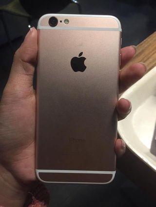 Iphone 6s 16gb Rosegold Ex Inter