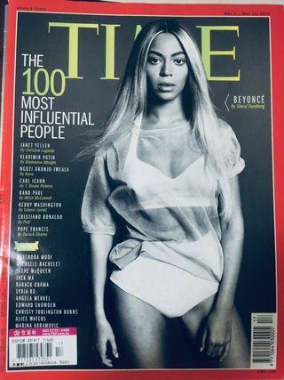 TIME 2014 百大人物 碧昂絲封面