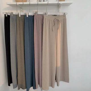韓🇰🇷超長腿落地褲