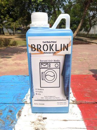 Deterjen Cair BROKLIN 1L 1000Ml rumah tangga/laundry