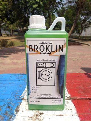 Deterjen Cair BROKLIN 1L 1000Ml laundry/rumah tangga