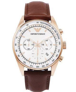 EMPORIO ARMANI/AR5995 42mm 三眼計時手錶