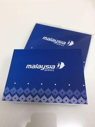 Malaysia Airlines Sticky Notes