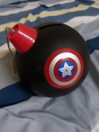 美國隊長存錢桶 炸彈存錢桶  手雷存錢筒