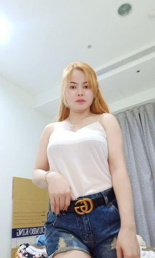 White top small - semi large