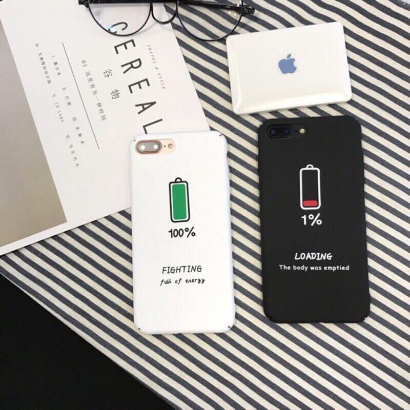 霧面 電池1% 手機殼iPhone6 (全新)