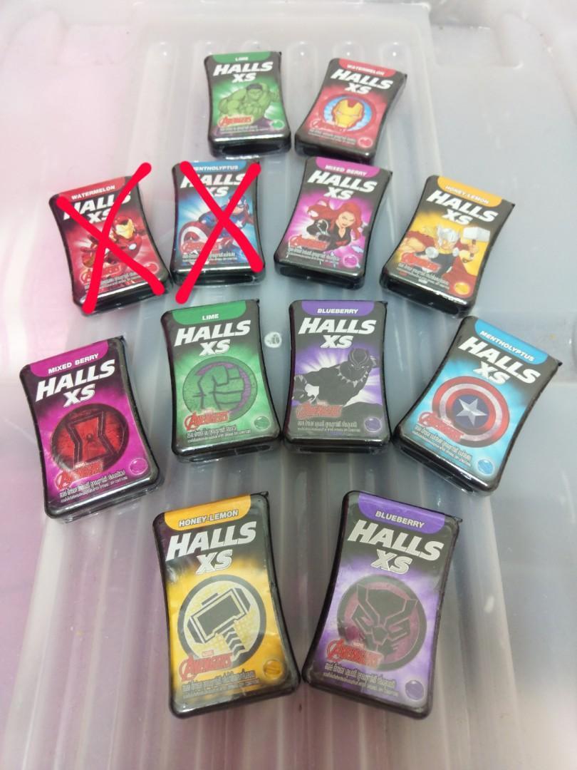 【現貨】泰國代購 漫威 聯名款Halls喉糖