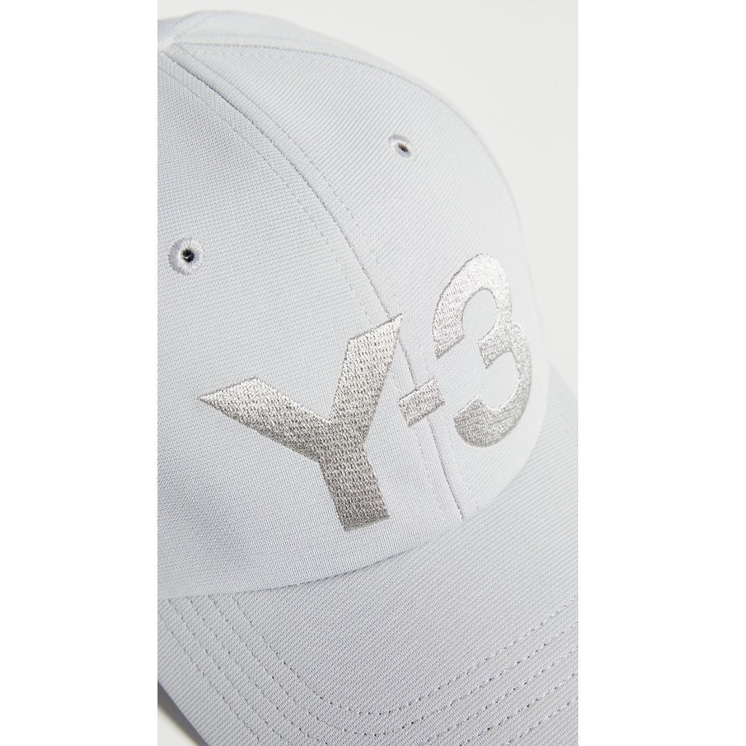 不敗時尚經典 ! Y3 棒球帽、鴨舌帽 ~ 限量變繡版 ! 白 !