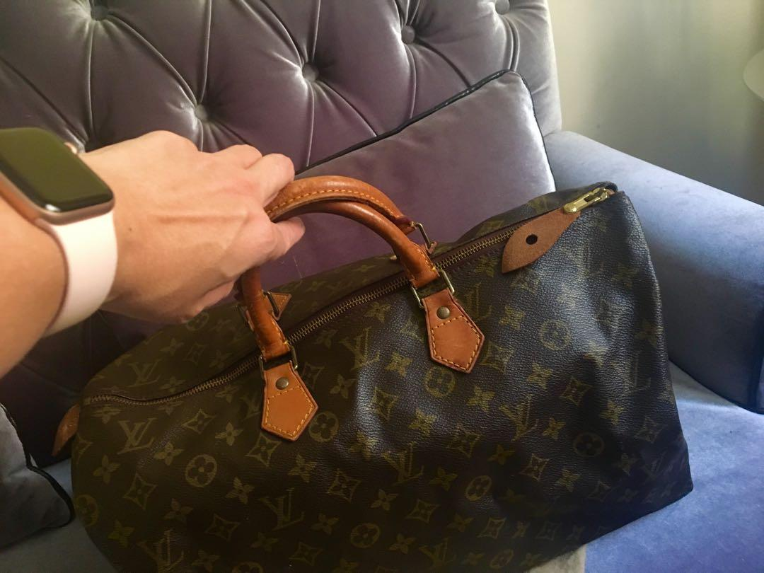 ⭐️ Authentic Louis Vuitton Speedy 40⭐️ Made in France, vintage, pre loved : bargain