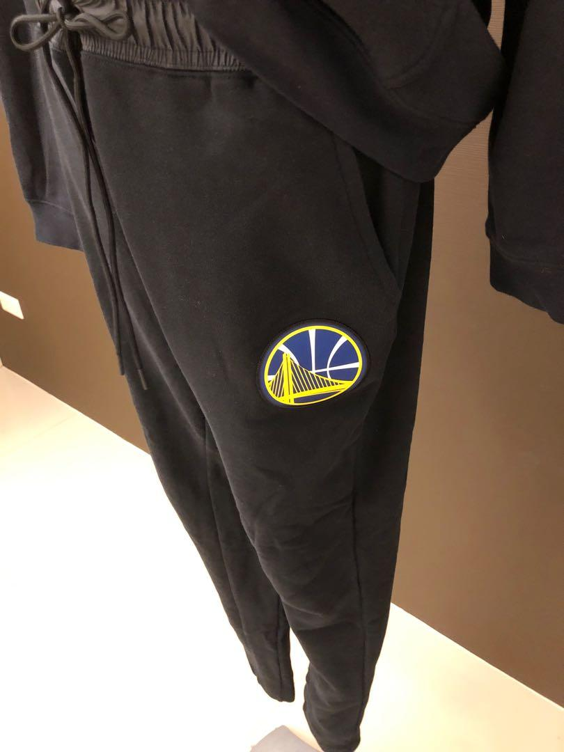 全新現貨無吊牌 Nike Golden State NBA XL Warriors Hoodie 湖人隊火箭勇士