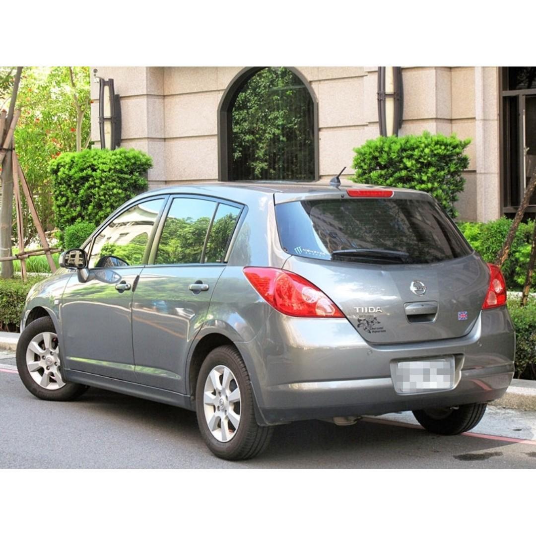日產 TIIDA 一手車 頂級配備 有IKEY 電動天窗  恆溫 倒車雷達 雙安全氣囊