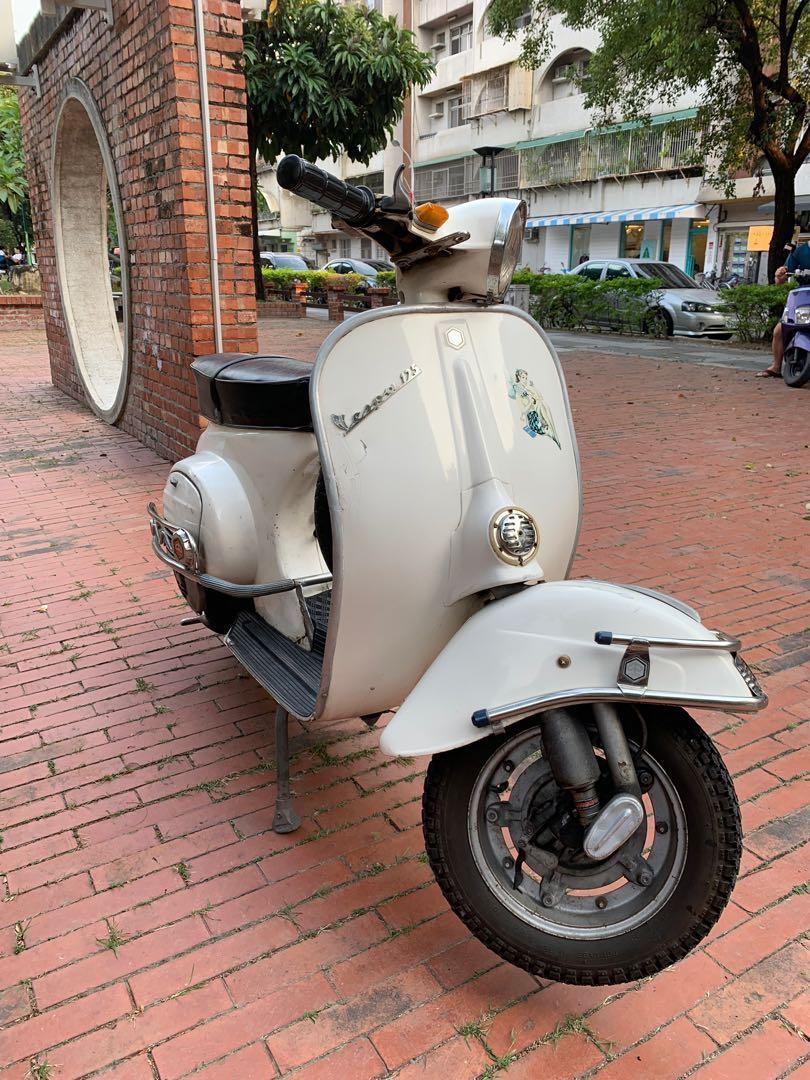 1973老車偉士牌古董摩托車春天 Vespa125 primavera