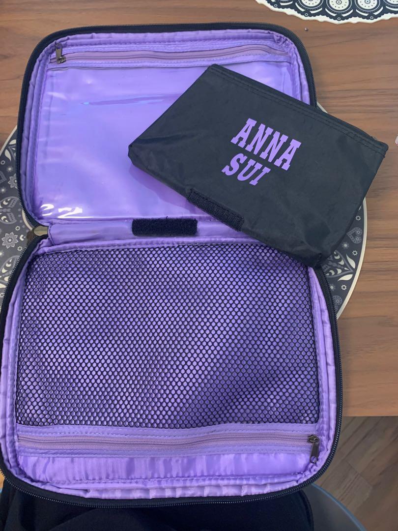 Anna Sui 旅行化妝袋 (2 in 1)