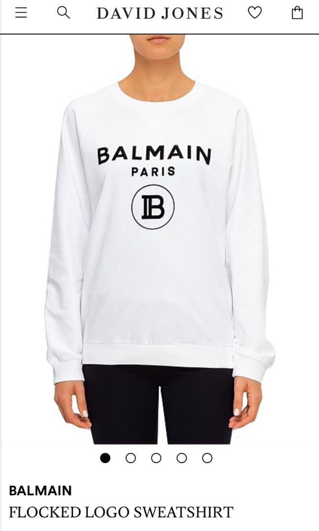 Balmain jumper - limited edition - white size 14/42