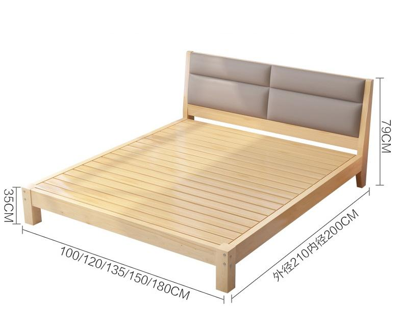 Bed014 Double Single Bed 單人床 雙人床