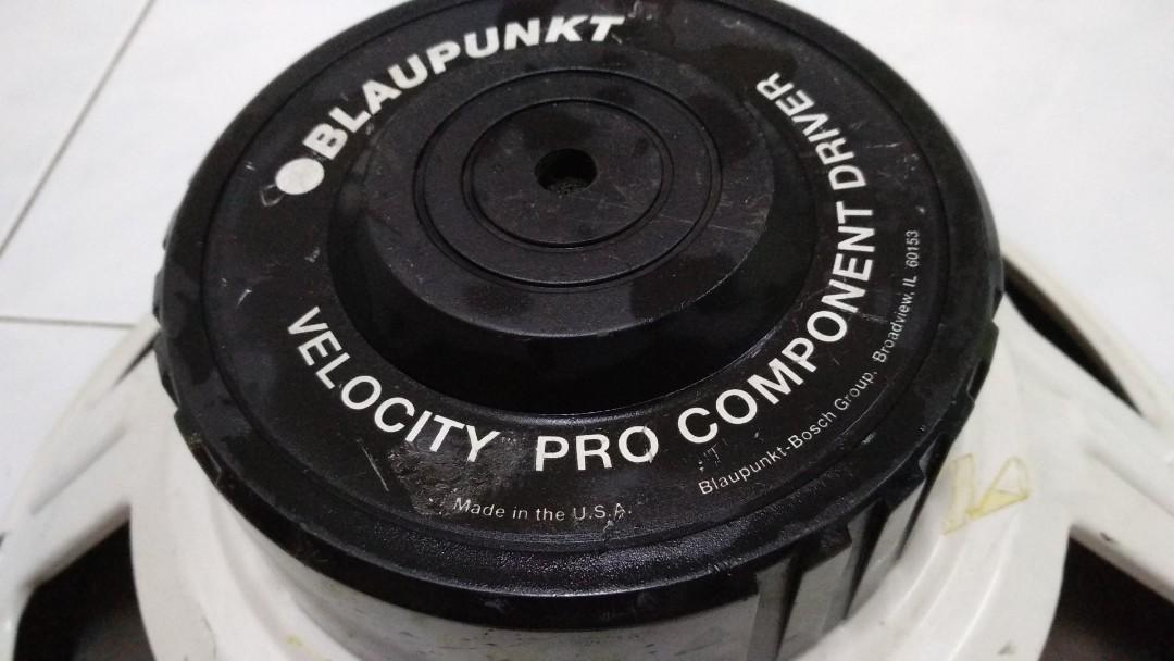 BLAUPUNKT Velocity Pro Component 15in subwoofer