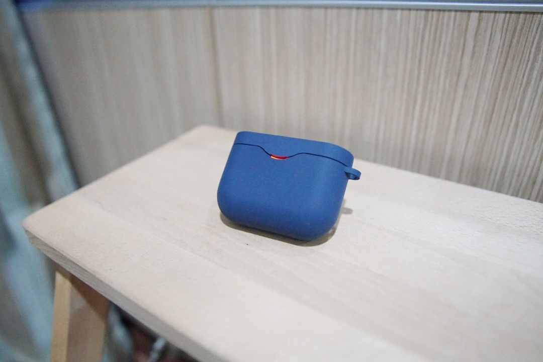 Blue Silicone cover for Sony WF-1000X M3