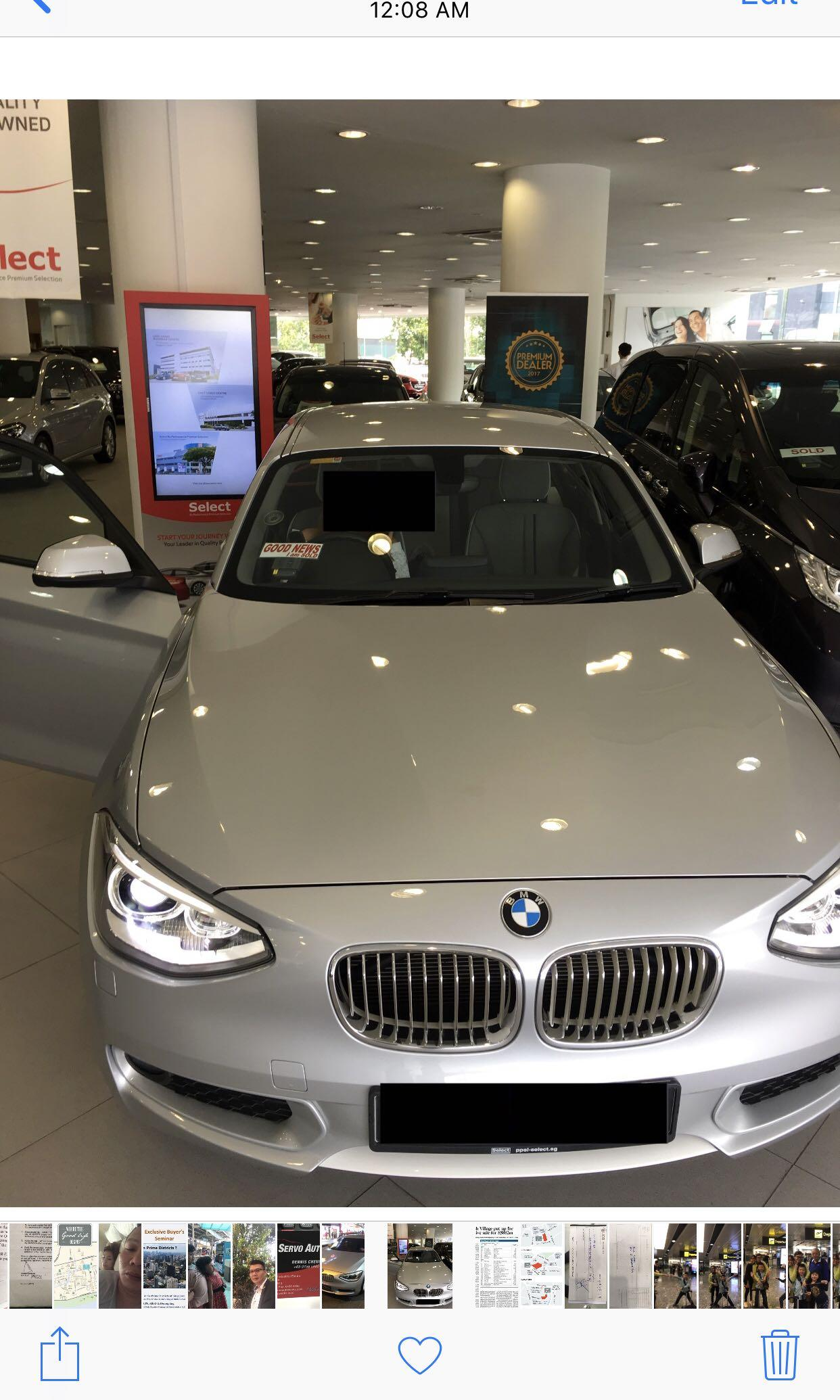 BMW 116i 1 series urban  Auto