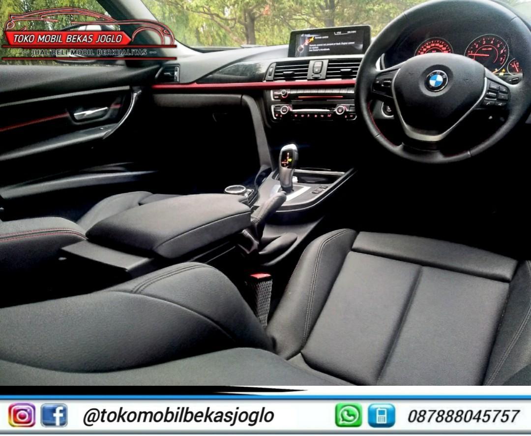 BMW 320i SPORT 2014 GREY DP 72jt KONDISI ISTIMEWA DAN SIAP PAKAI