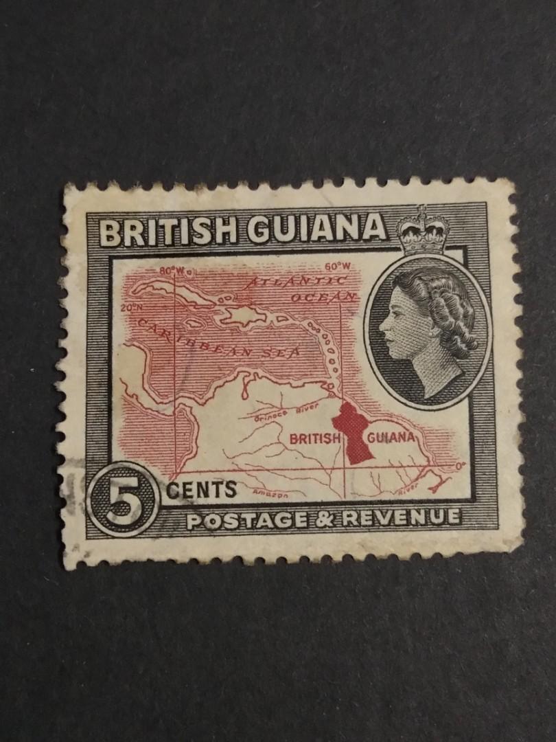 British Guiana/5 cents