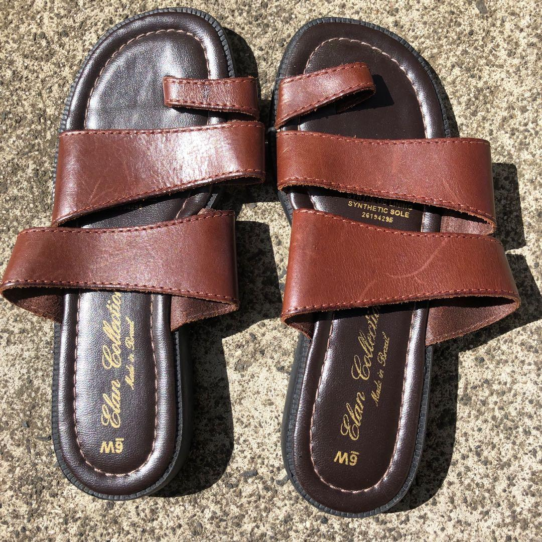 Brown Leather sandals  - ( Price includes free standard postage within Australia
