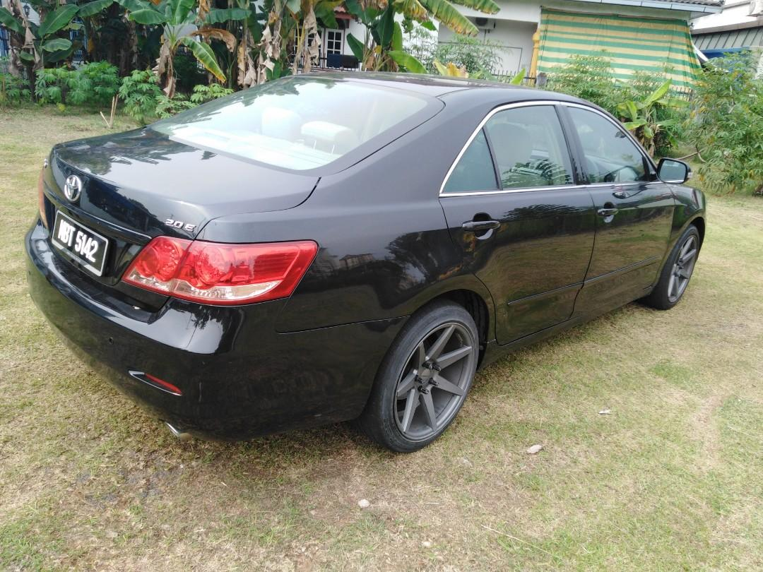 Car Loan accept TOYOTA CAMRY E  2.0 Auto 2009 (contact for more detail)