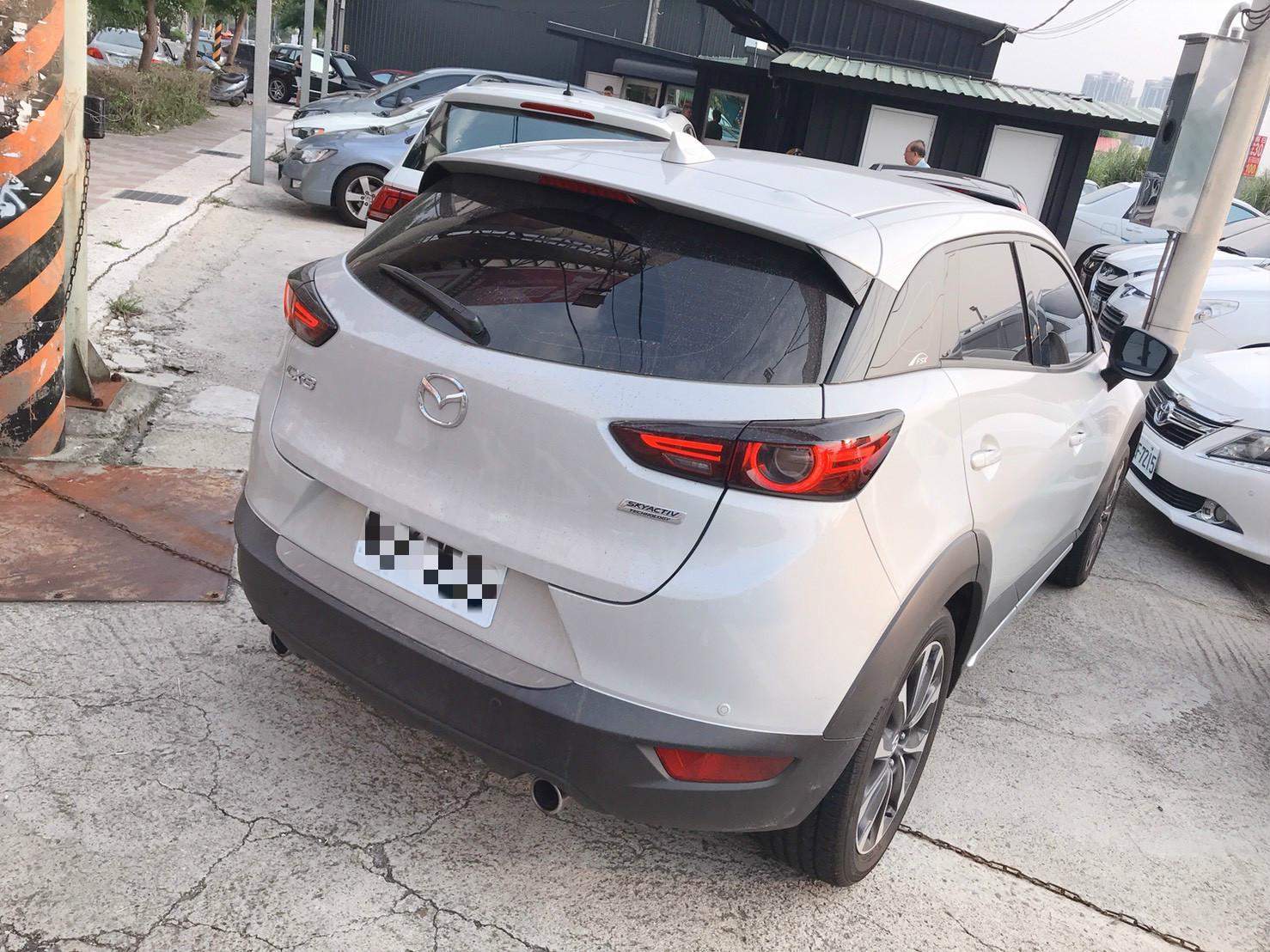 CX-3 汽油版 只跑5000 全額貸 超貸 車換車 皆可辦理