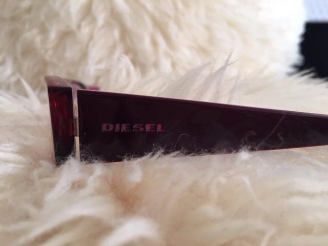 Diesel Glasses Frame Colour: Burgundy Condition: Like New