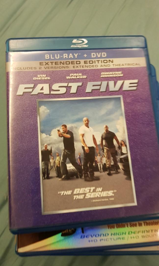 Fast Five Blu Ray