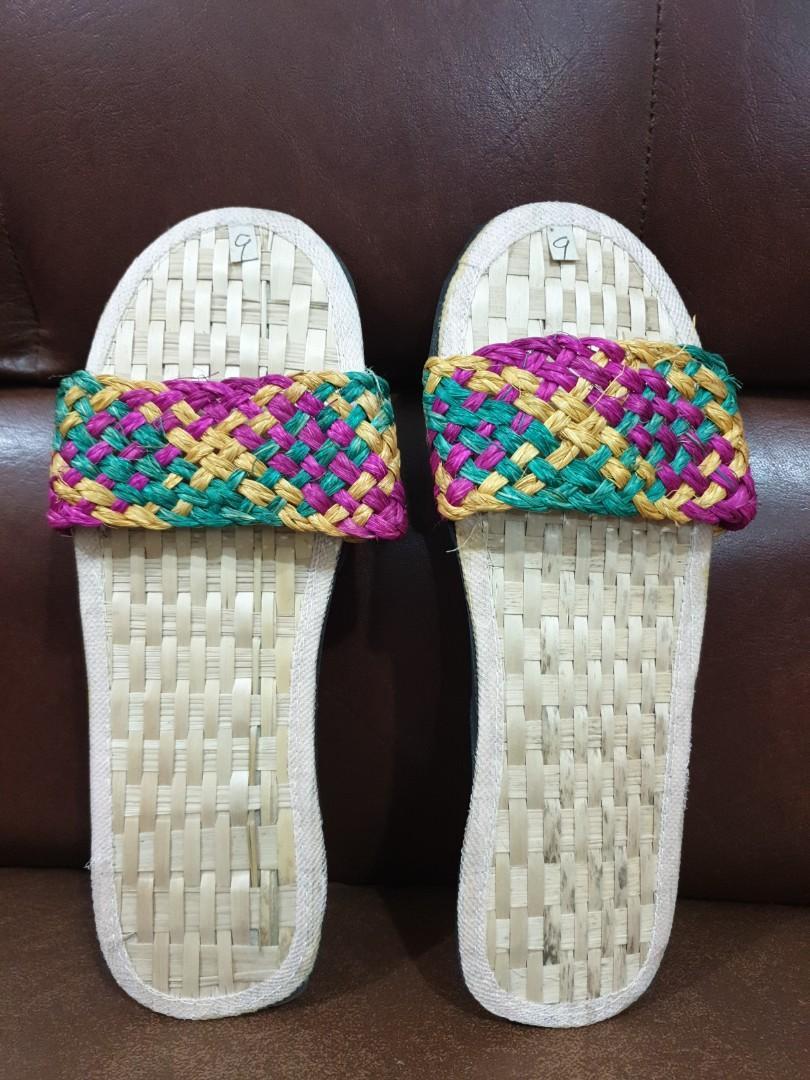 Filipiniana slippers, Women's Fashion