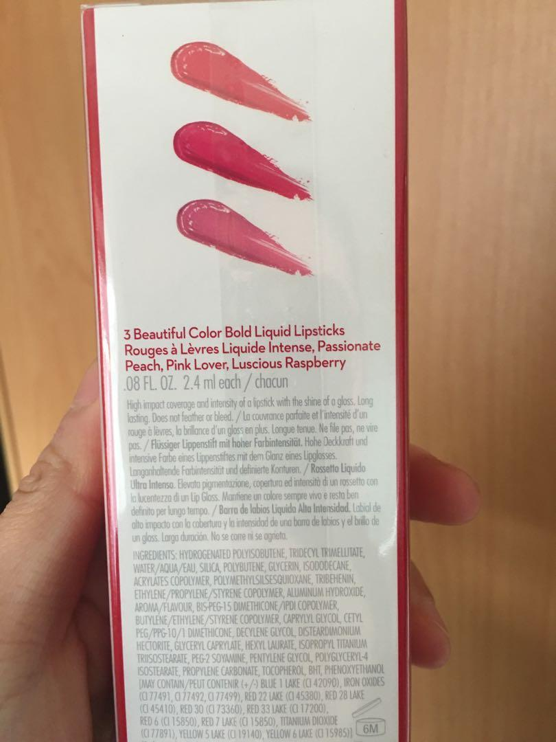 Elizabeth Arden Liquid Lip Trio Pack